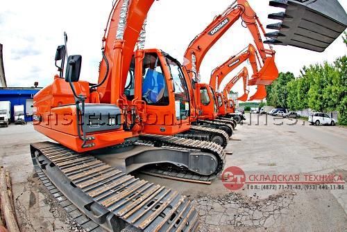Гусеничный экскаватор Doosan DX225LCA
