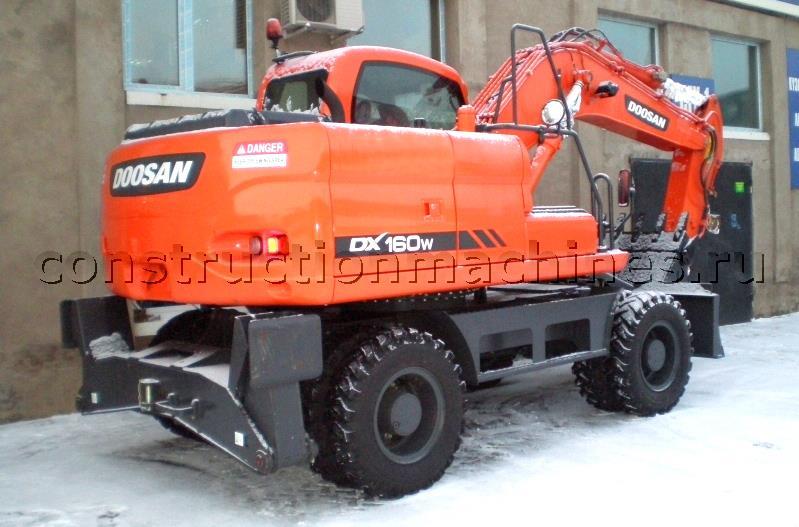 колесный экскаватор Doosan DX160W