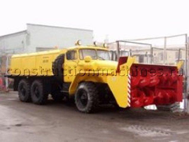 Амкодор 9531-03 Снегоочиститель шнекороторный на базе шасси УРАЛ-4320-41