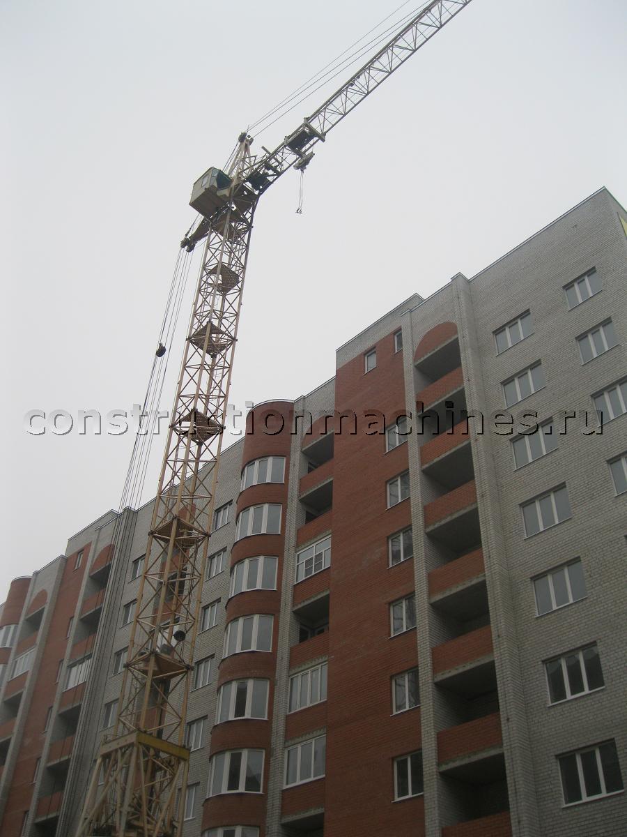Продается или сдается в аренду башенный кран КБ-403Б