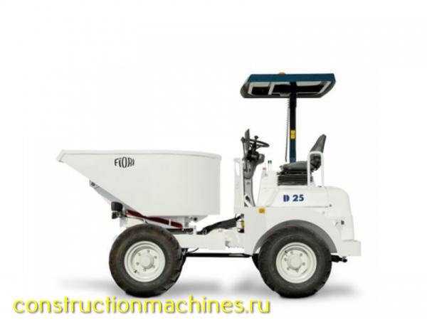 Тракторы самосвал с самозагрузкой 2,5 тонники FIORI D25 Италия 4х4 новые