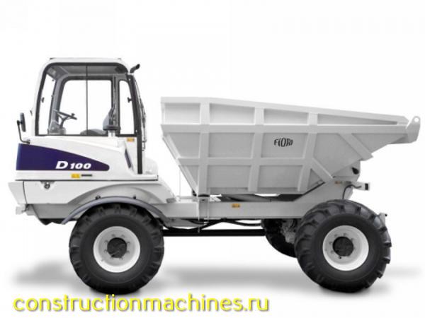 Самосвал FIORI D 100 грузоподъёмность 10т новые 4х4 + крабовый ход