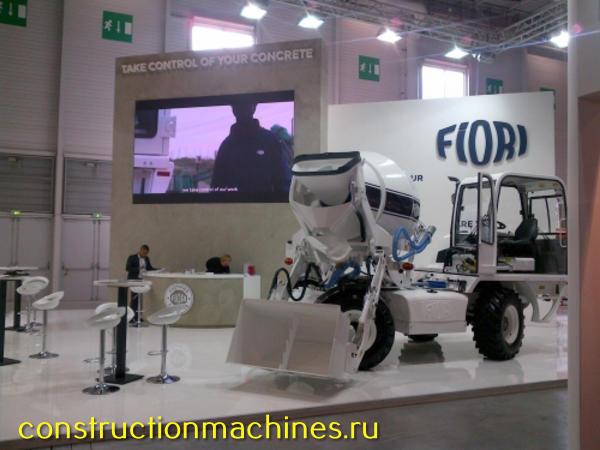 Автобетоносмеситель с самозагрузкой Fiori (Италия) DB 260 мобильные бетонозаводы 4х4