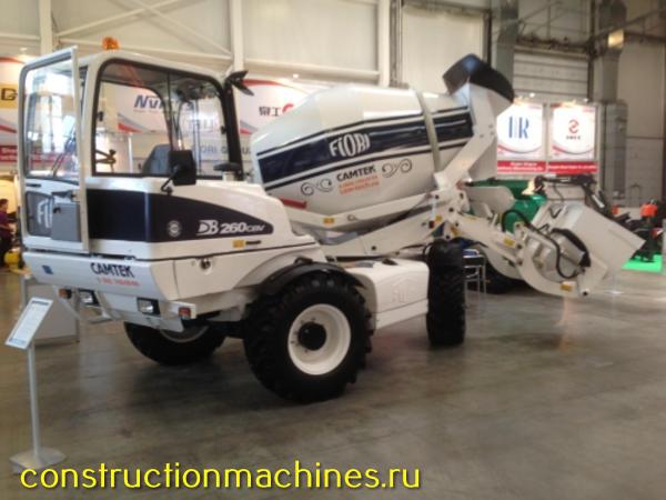 Авто бетоносмеситель с самозагрузкой Fiori (Италия) DB 260 мобильные бетонозаводы 4х4