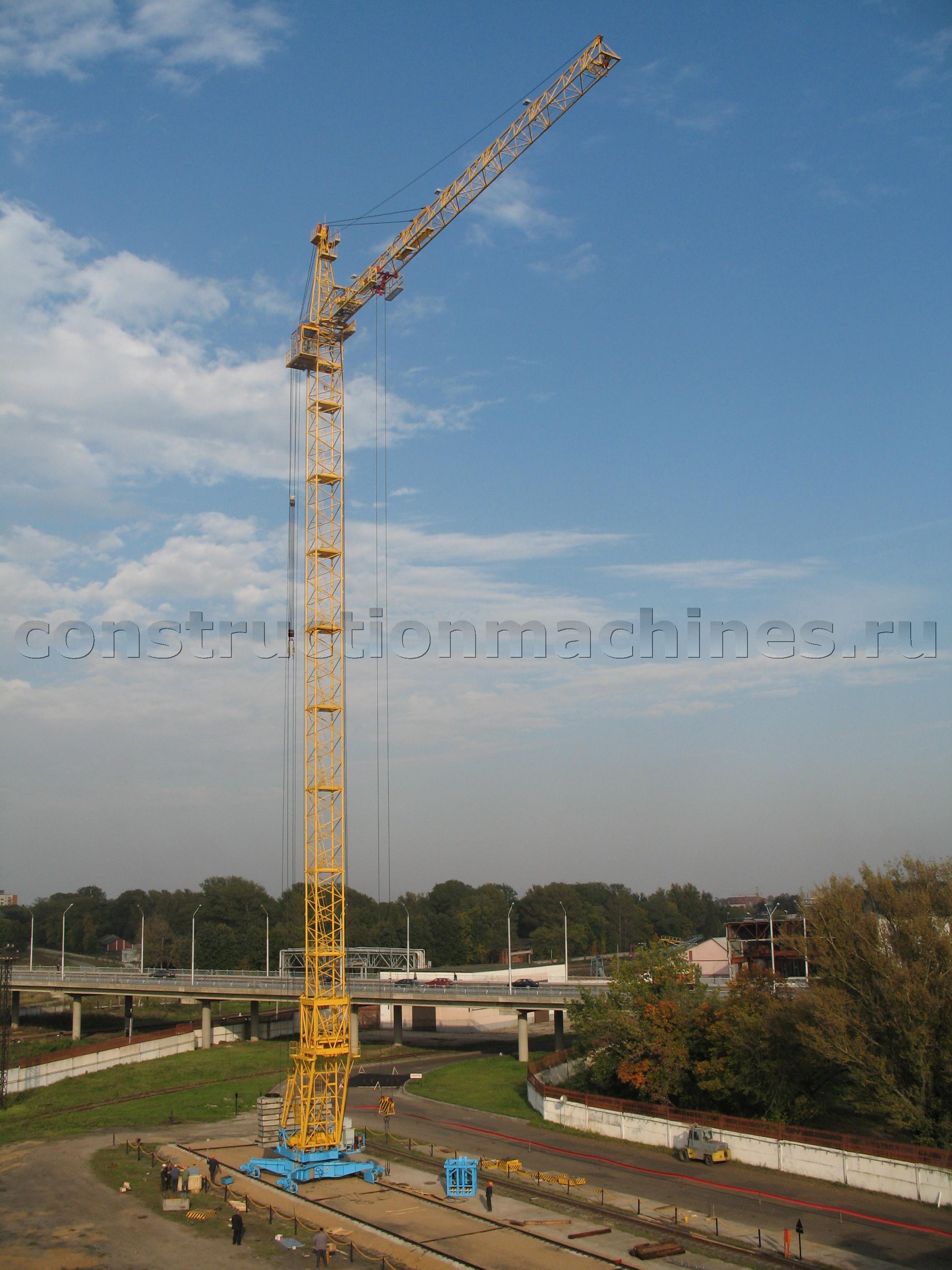 Продам башенный кран КБМ-401ПА