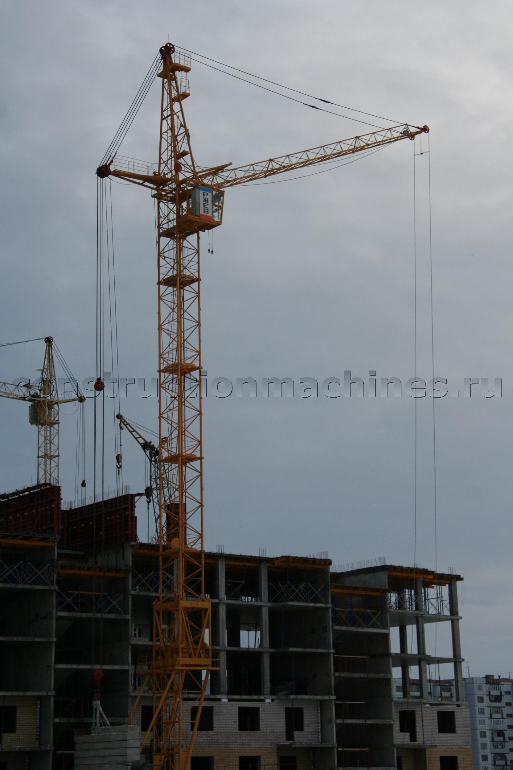 Продам башенный кран КБ-405