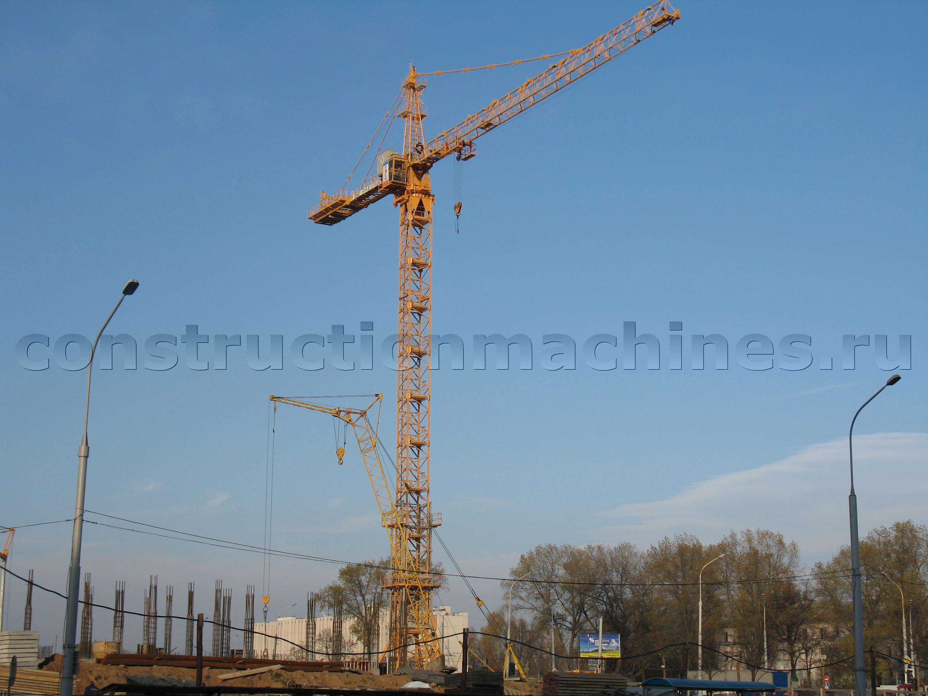 Продам башенный кран КБ-474А (стационарный)