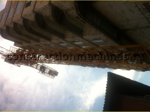 Продам башенный кран б/у QTZ125