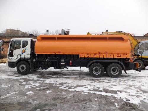 Бензовоз с объемом цистерны 22.000 литров