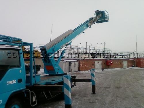 Услуги автовышки 15-26 метров