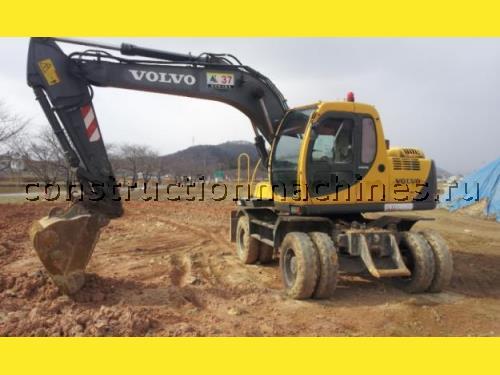 Аренда экскаватора в Киеве Volvo EW130