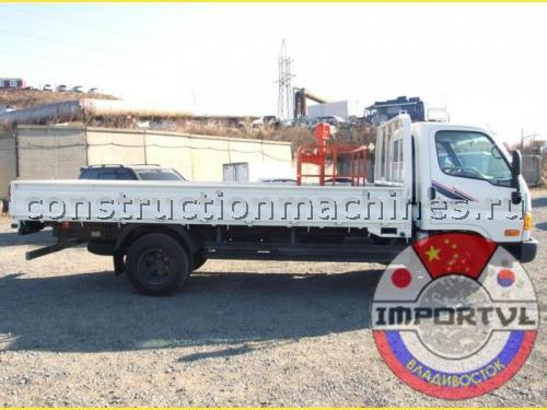Hyundai HD 72 бортовой грузовик