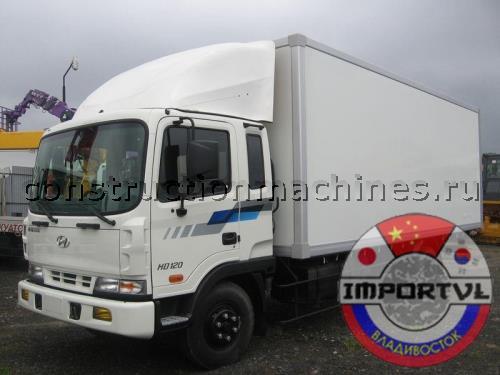 HYUNDAI HD 120 промтоварный фургон