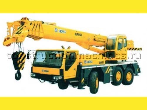 Автокран XCMG QAY50