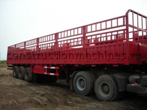 Бортовой полуприцеп 40 тонн 3 оси