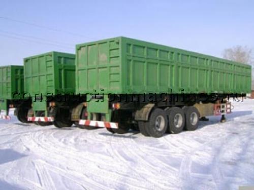 Самосвальный полуприцеп 60 тонн