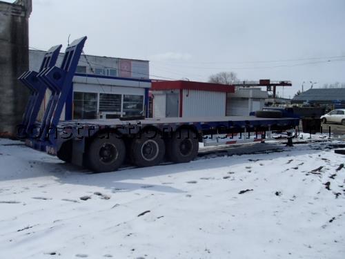 Полуприцеп-трал 60 тонн cimc