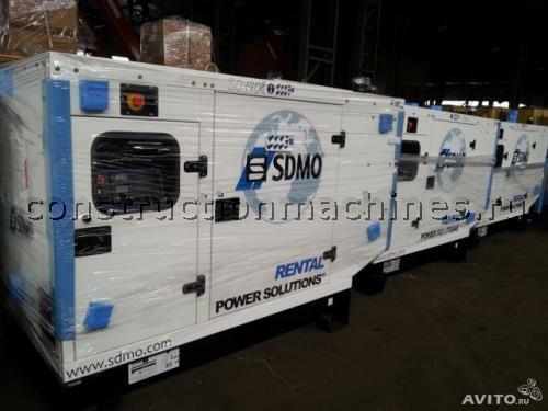 Дизельная электростанция sdmo R135