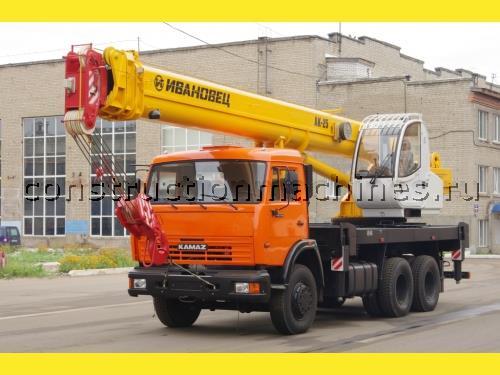 """Продам новый автокран """"Ивановец"""" КС-45717К-1Р, на шасси КАМАЗ-65115, 25 тн., стрела 30,7"""
