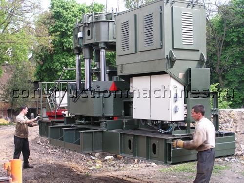 Сваевдавливающая установка CO-450