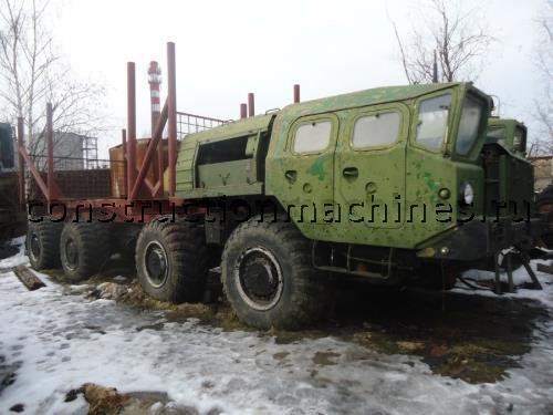 Продается лесовоз МАЗ 543