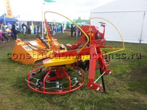 ГРАБЛИ ВОРОШИЛКИ РОТОРНЫЕ KR-4M-2K Сеноуборочная машина Страна-изготовитель Польша