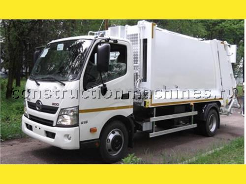 мусоровоз HIDRO-MAK с объемом кузова 8 куб.м на шасси Hino 300