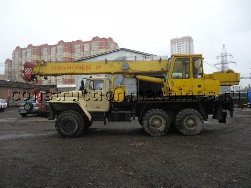Автокран Урал КС 35714