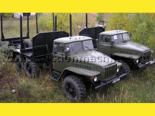 Продаем лесовозные тягачи Урал 4320 с прицепом