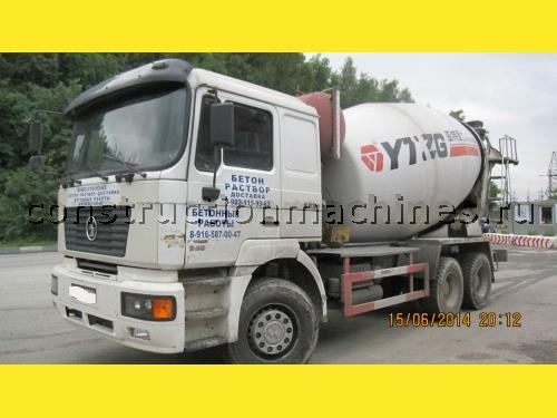 Автобетоносмеситель Shaanxi SX3255DR386