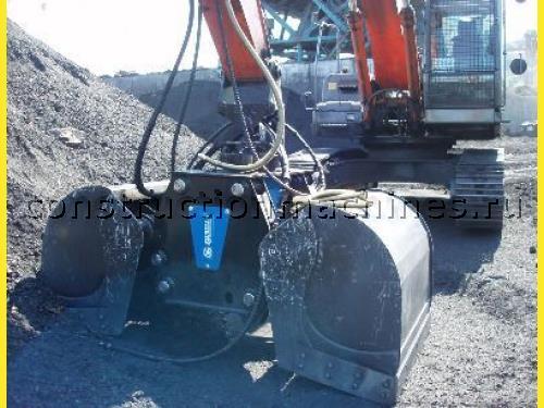 Продам двухчелюстной грейфер GIE для щебня, песка, угля, сыпучих