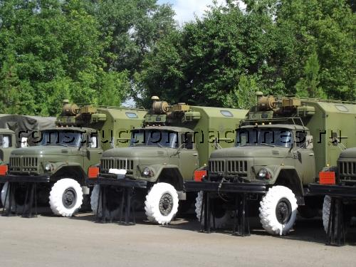 Передвижная ремонтная мастерская ПАРМ-1М