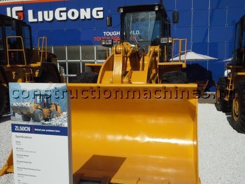 Фронтальный погрузчик Liugong ZL50CN