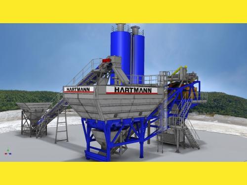 Мобильный бетонный завод Hartmann MobilJet 2000