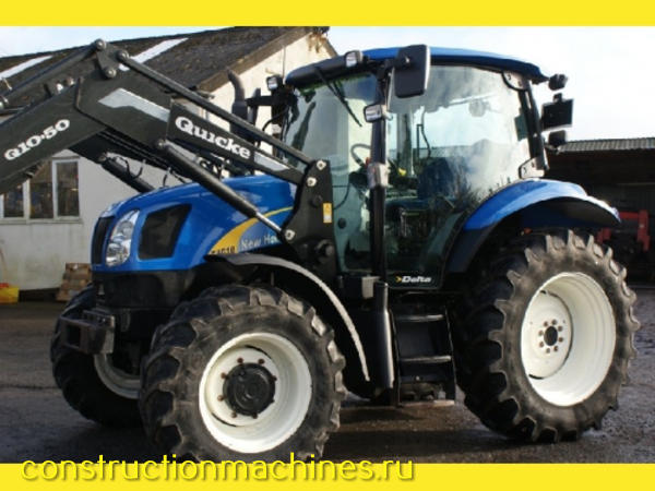 2008 New Holland T6010 Delta