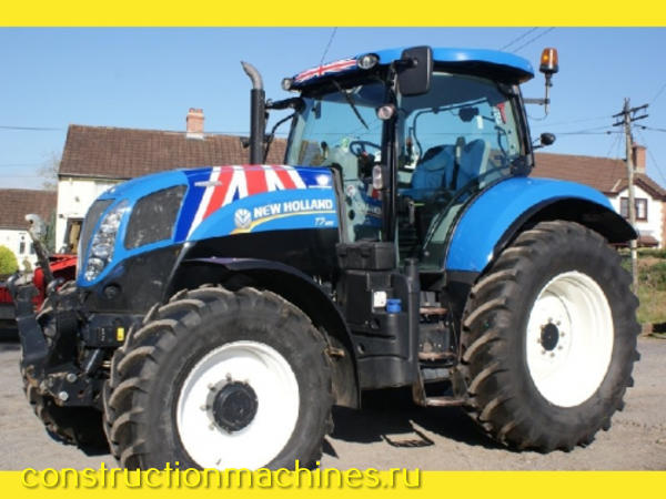 2011 New Holland T7.185 Autocommand