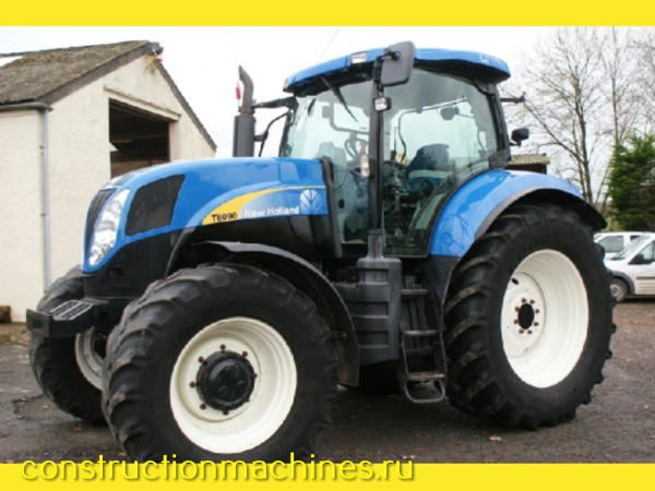 2011 New Holland T6090 Powercommand