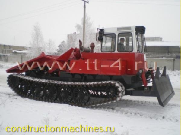 ТСН-4 - современный трелевочник, новое поколение ТТ-4М