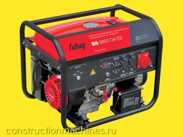 Бензиновые генераторы Fubag