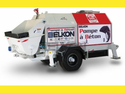 Стационарные прицепные бетононасосы ELKON