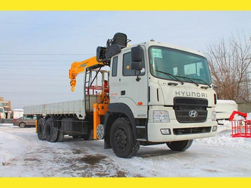 Hyundai  HD250 (15 000кг)  с КМУ Soosan 746L (7300кг)