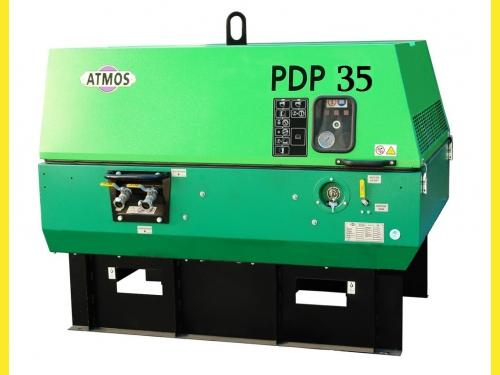 Дизельный компрессор Atmos PDP35-7 5,4м3/мин, 7bar,без шасси, воздушный, Чехия, цена 550000руб.