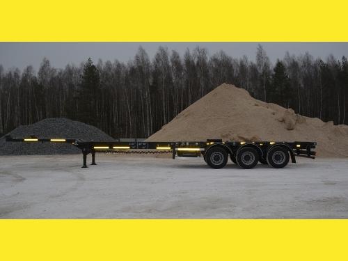 Раздвижной контейнеровоз Тонар 974629