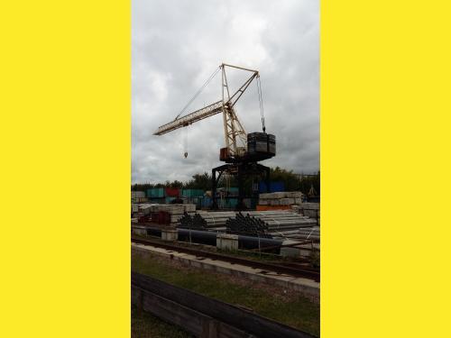 Продается грузоподъемный кран погрузчик на портале МКПЛ-300